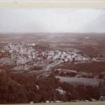 Vue de Combaillaux et Sajolles début 1900